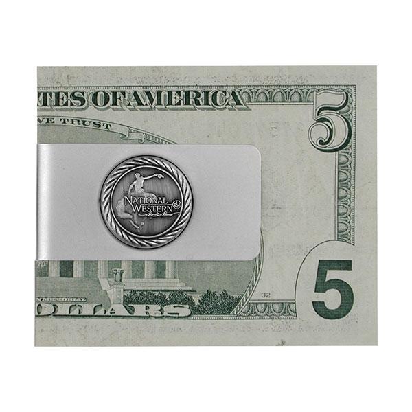 MONEY CLIP PEWTER