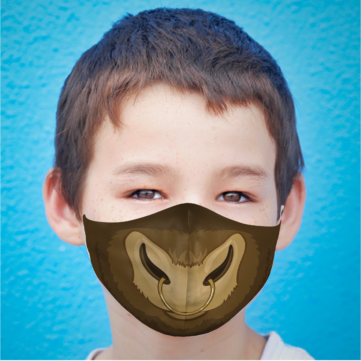 YOUTH BULL FACE MASK
