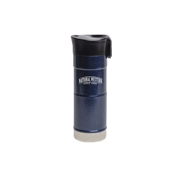 TRAVEL TUMBLER STAINLESS STEEL MIDNIGHT BLUE