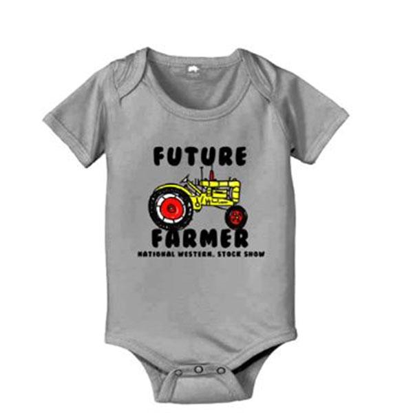 INFANT CREEPER FUTURE FARMER-HEATHER
