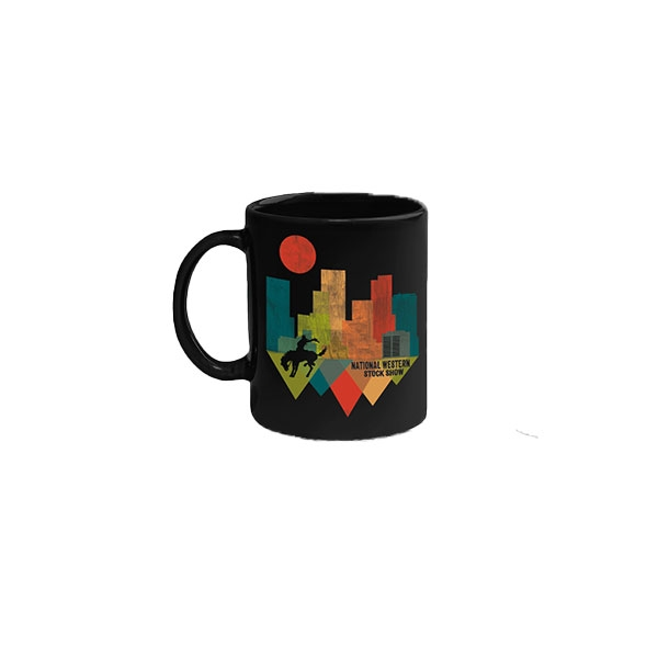 COFFEE MUG SHARD SKYLINE-BLACK
