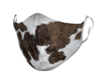 ADULT COWHIDE FACE MASK
